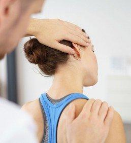 Untersuchung Physiotherapie